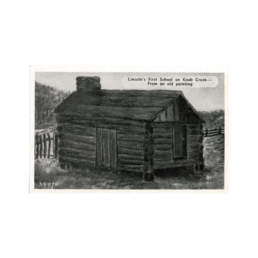 Image: Lincoln's First School on Knob Creek
