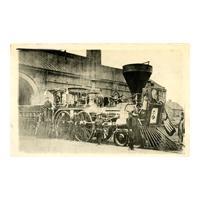 """Image: """"Nashville"""" Funeral Train Engine"""