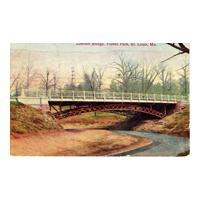 Image: Lincoln Bridge, Forest Park, St. Louis, Mo.