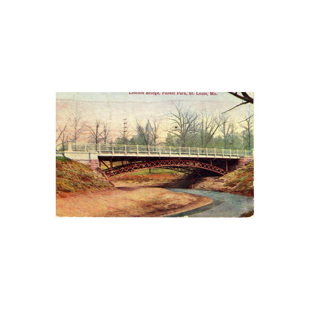 Image: Lincoln Bridge, Forest Park, St. Louis, Mo.