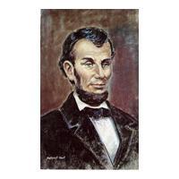 Image: President Abraham Lincoln portrait