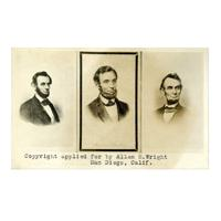 Image: Three Photographs of President Lincoln