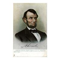 Image: Abraham Lincoln, Sixteenth President of the U. S.