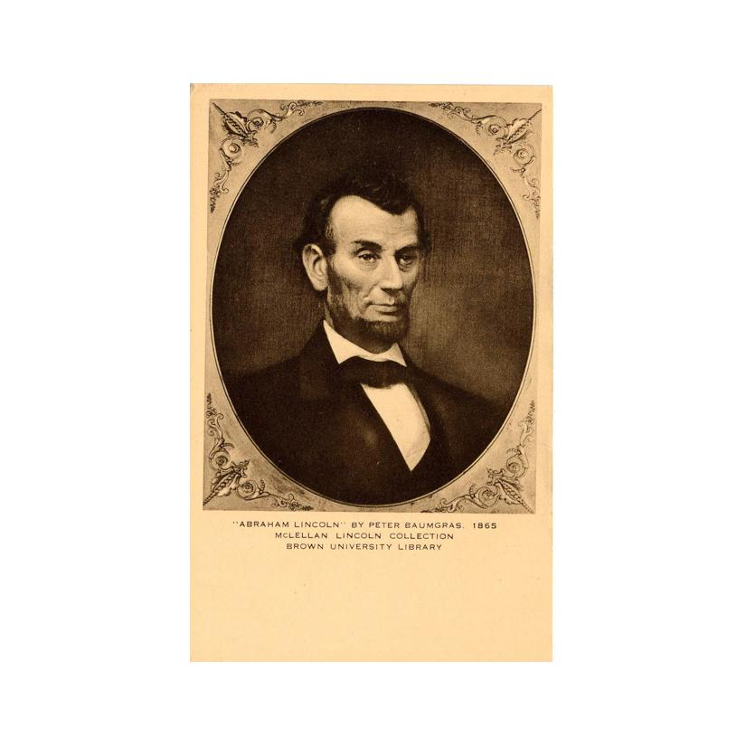 Image: President Abraham Lincoln by Peter Baumgras