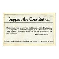 Image: Support the Constitution