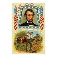 Image: Lincoln as Rail-Splitter