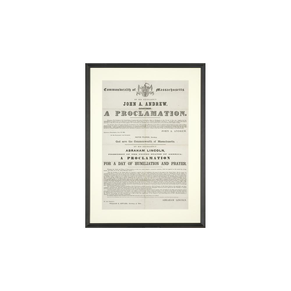 Image: A Proclamation