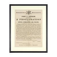 Image: A Proclamation for a Day of Special Humiliation and Prayer