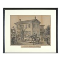 Image: Mr. Lincoln. Residence and Horse