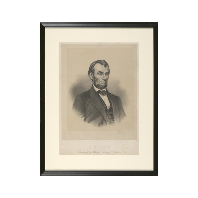 Image: A. Lincoln, President of the United States of America