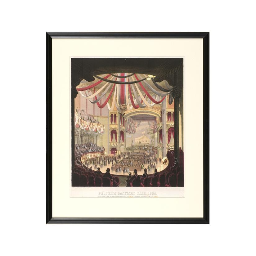 Image: Brooklyn Sanitary Fair, 1864, Academy of Music from the Dress Circle