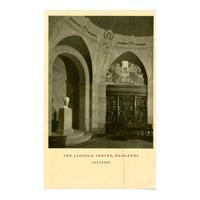 Image: The Lincoln Shrine, Redlands, Interior