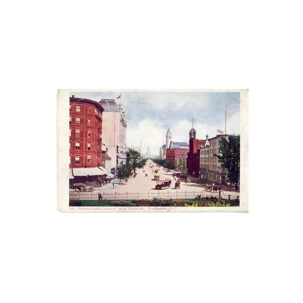 Image: Pennsylvania Avenue, From Treasury, Washington, D. C.
