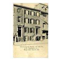 Image: Oldroyd Lincoln Museum, 516 - 10th. St., N. W., Washington, D. C. House where Lincoln died.