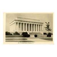 Image: The Lincoln Memorial, Washington, D. C.