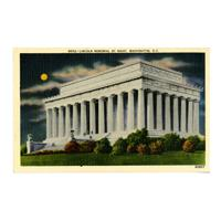 Image: Lincoln Memorial by Night, Washington, D.C.