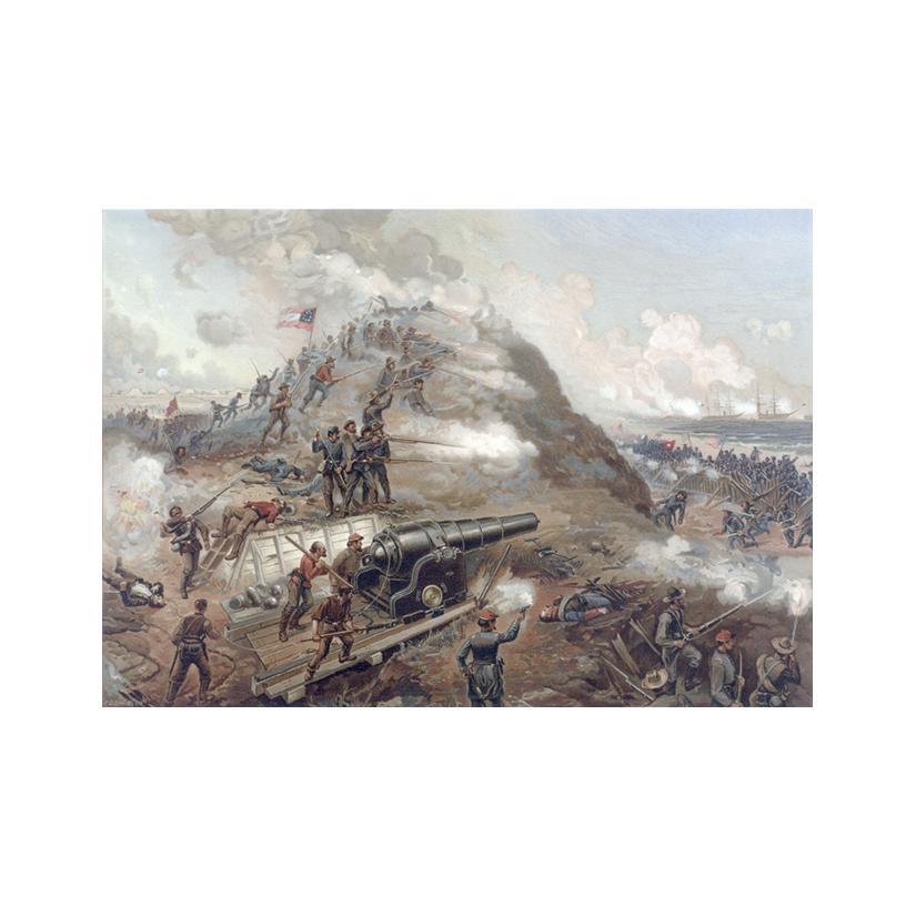Image: Capture of Fort Fisher