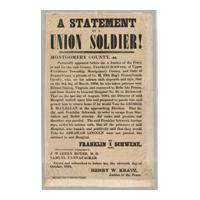 Image: A Statement By a Union Soldier