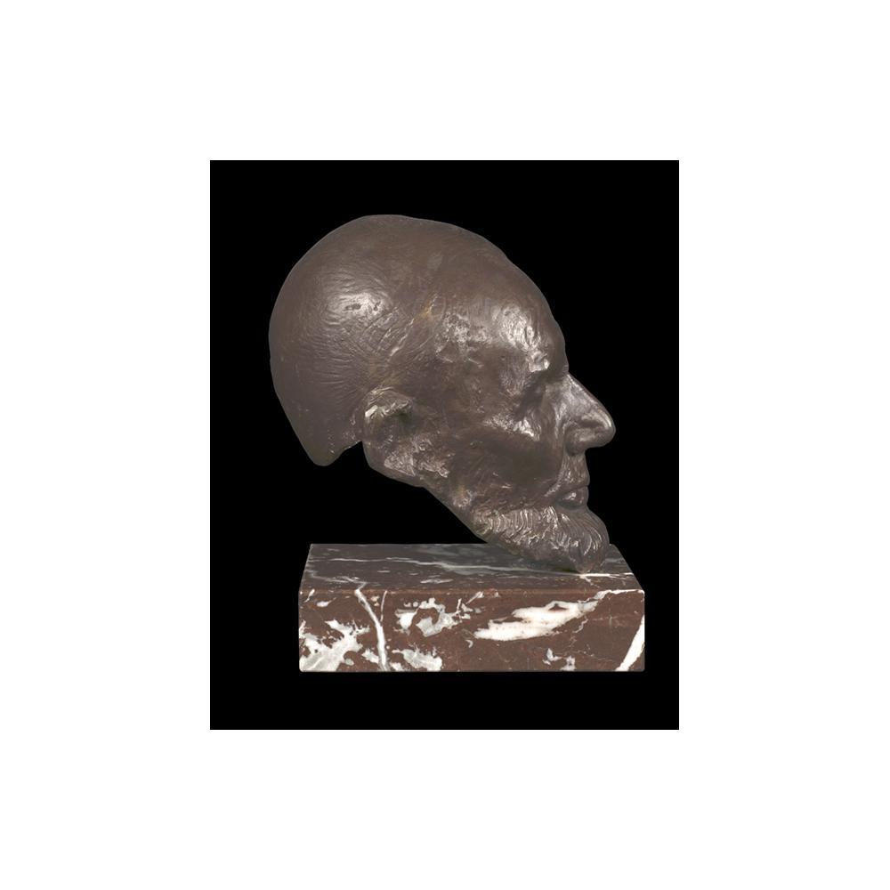 Image: Life Mask of Abraham Lincoln