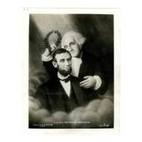 Image: Lincoln Crowned by Washington