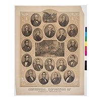 Image: Centennial Exposition of American Presidents