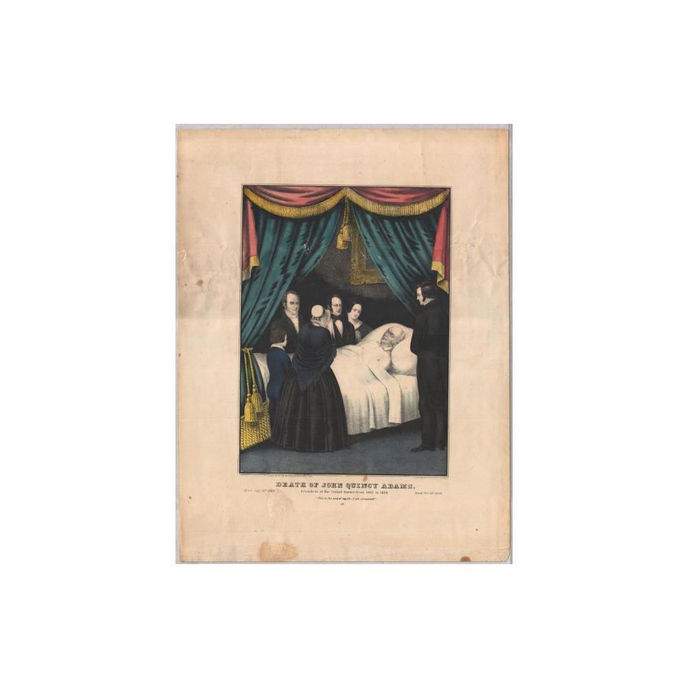 Image: Death of John Quincy Adams