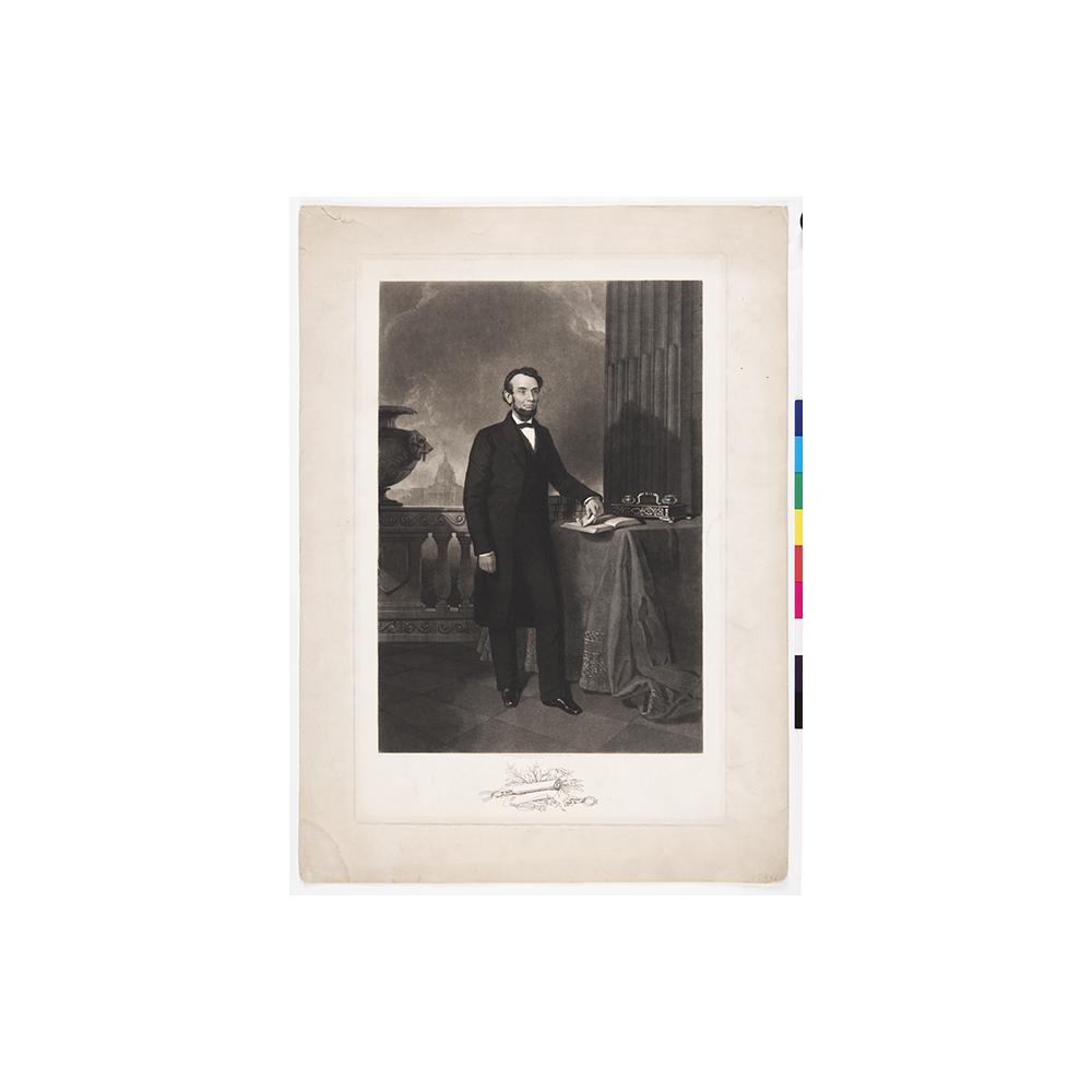 Image: Abraham Lincoln Standing Portrait