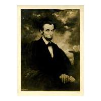 Image: Lincoln deep in thought