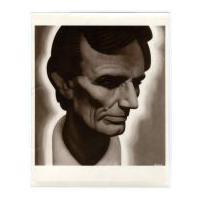 Image: Stylized Lincoln portrait