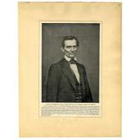 Image: Lincoln in February, 1860, at the time of the Cooper Institute Speech
