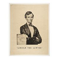"Image: ""Lincoln The Lawyer"""