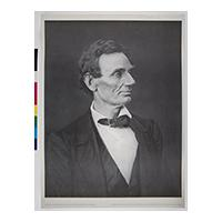 Image: Abraham Lincoln's Presidential Candidate Photograph