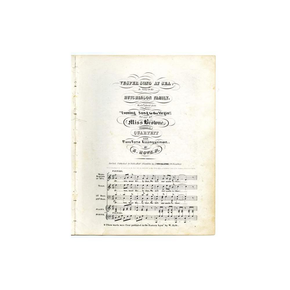 Image: Vesper Song at Sea