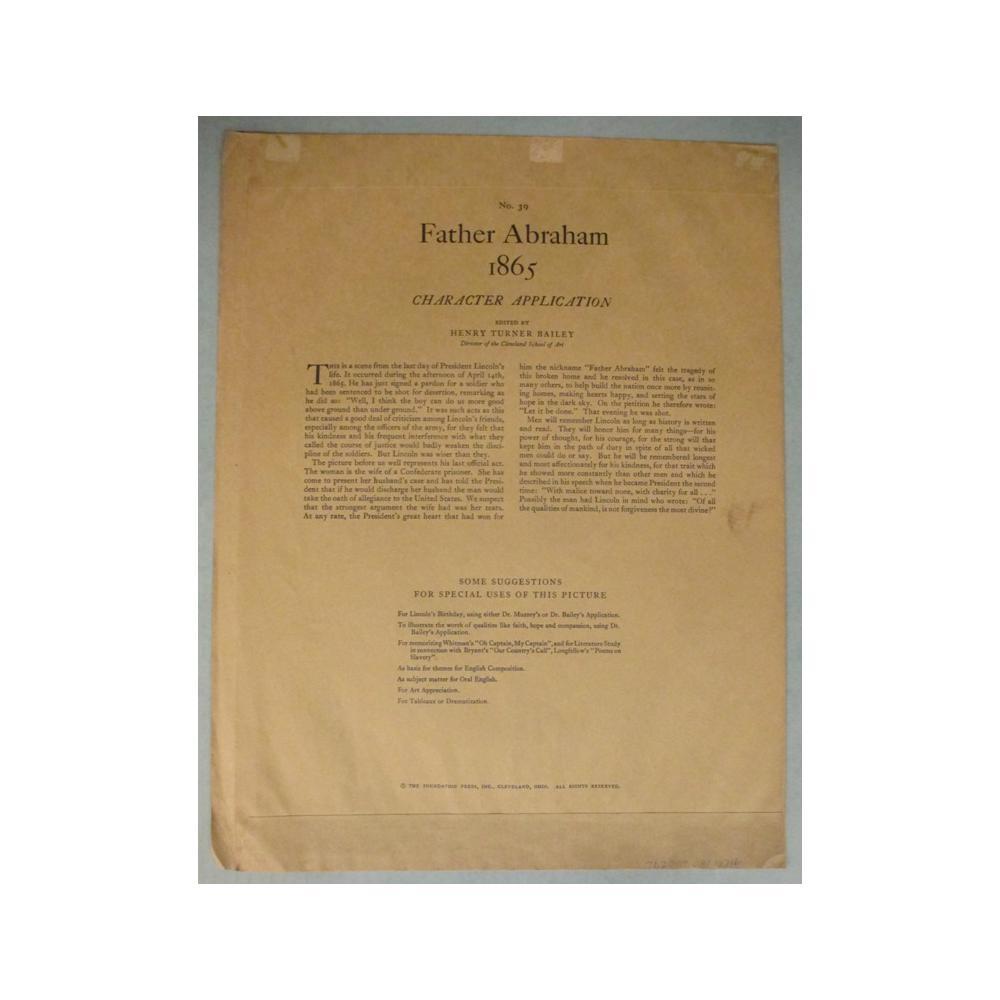 Image: Father Abraham