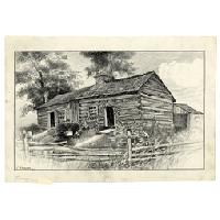 Image: Illinois Home of Thomas and Sarah Lincoln