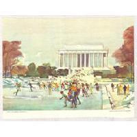 Image: Winter - Lincoln Memorial