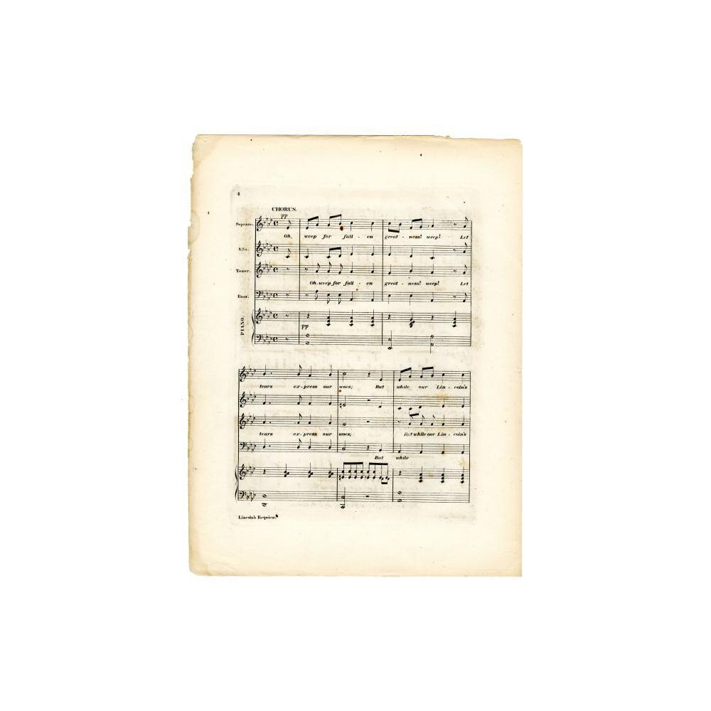 Image: Lincoln's Requiem