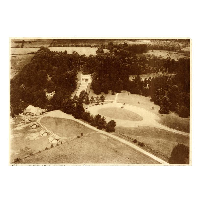 Image: Lincoln Birthplace Memorial aerial view