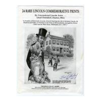 Image: 24 Rare Lincoln Commemorative Prints