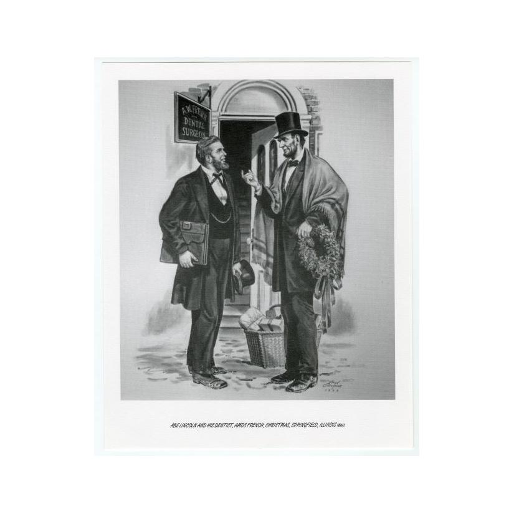 Image: 24 Rare Lincoln Commemorative Prints