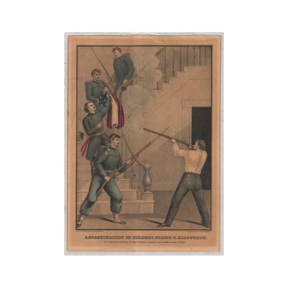 Image: Assassination of Colonel Elmer E. Ellsworth