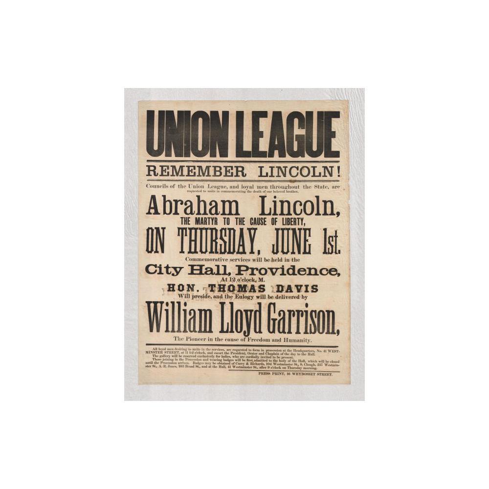 Image: Union League Remember Lincoln
