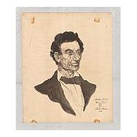 Image: Abraham Lincoln, Drawing from Life