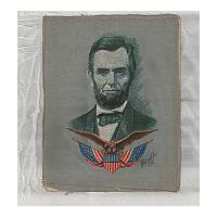 Image: Cloth Portrait of Lincoln