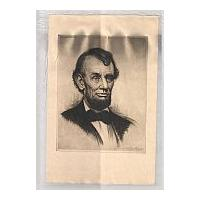 Image: Sketch of Lincoln