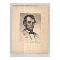 Image: Medium Sized Portrait of Lincoln
