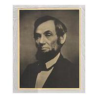 Image: Albertype of President Abraham Lincoln