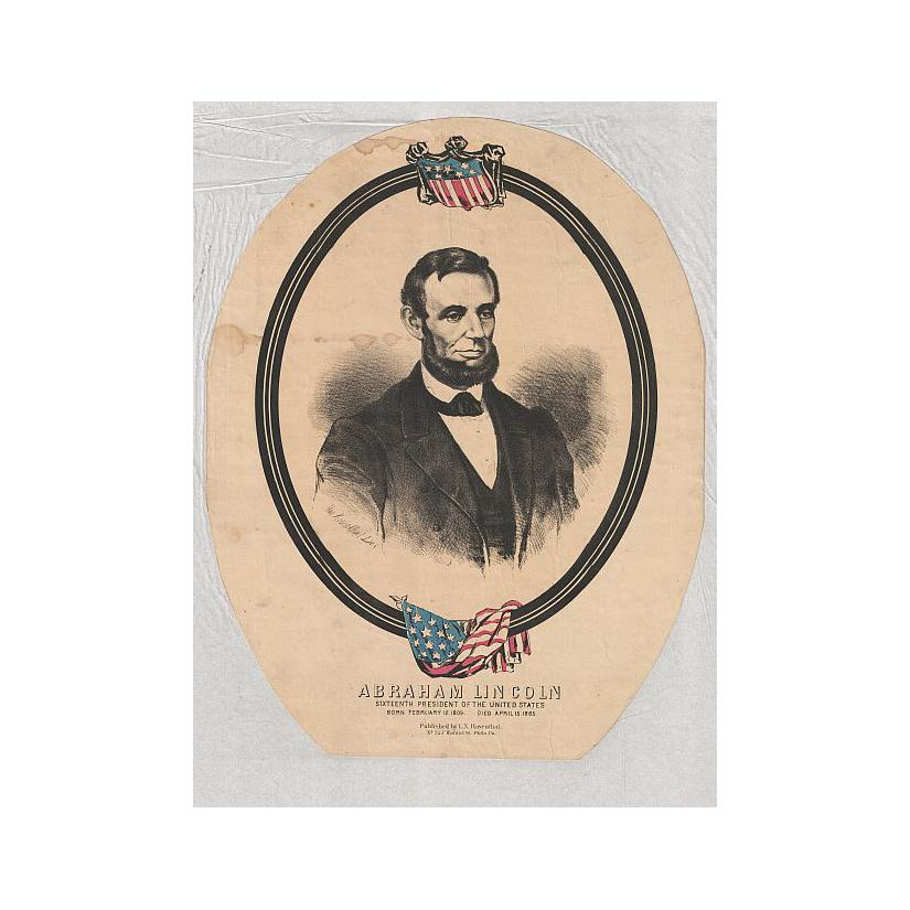 Image: Oval Portrait of Lincoln