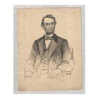 Image: President Abraham Lincoln, seated
