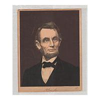 Image: Oil Print of Lincoln